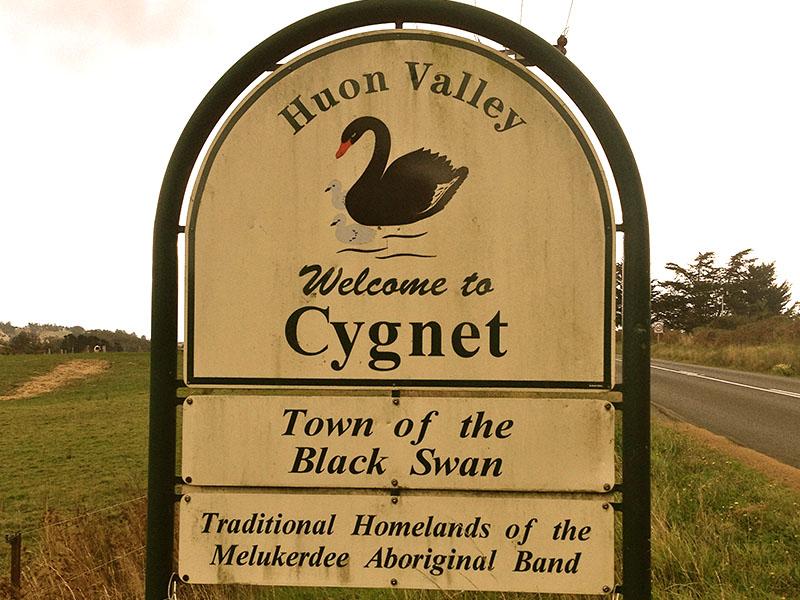 Cygnet Huon Valley